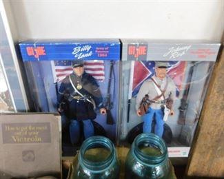 G.I. Joe Union and Confederate Figures