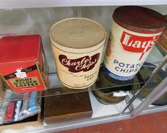 Potato Chip Cans