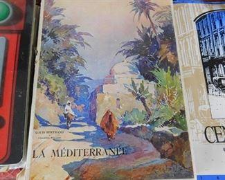 """La Mediterranee"" Print Book by Bertrand"