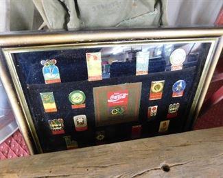 Coca Cola Pin Assortment