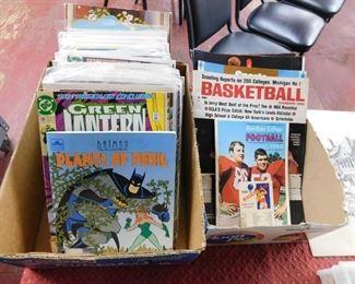 Comics/Sports Programs