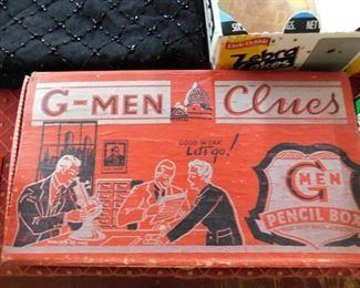 G-Men Pencil Box