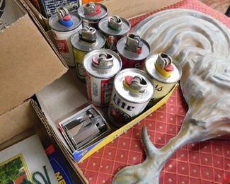 Vintage Miniature Beer Can Lighters