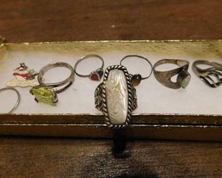 Ornate Sterling Ring