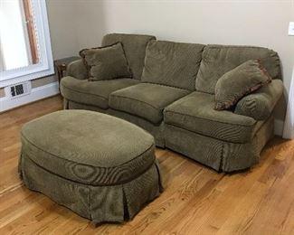 Sofa  & Ottoman
