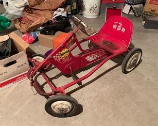 Super Hot Rod pedal car