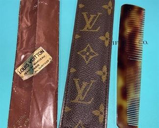 Vintage Louis Vuitton Comb