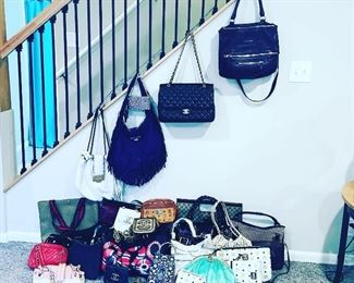 All of the handbags for the sale!
