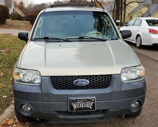2005 Ford Escape Multipurpose Vehicle (MPV), VIN # 1FMCU03115KC45189, Mileage Showing On Odometer 259,973