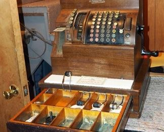 1904 National Electric Cash Register, Serial #31941098, In Working Order