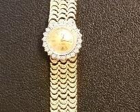 Vintage ladies Rolex. 14K with diamonds