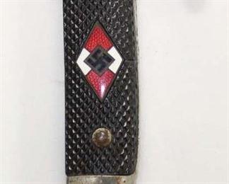 Lot 13: WWII German HJ Hitler youth knife Arthur Schuttehofer and Co model M7/13 RZM