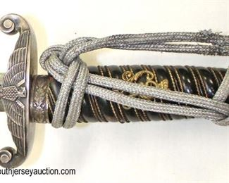 Lot 14: WWII German Army officer dagger by WKC with scabbard Solingen