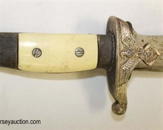 Lot 16: WWII German TENO by Eickhorn Hewer with 8399 scabbard Solingen