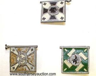 Lot 53: Patriotic Pins of Standarts (lot of 3)