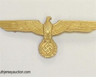 Lot 59: German mess dress eagle possible Kriegsmarine pin