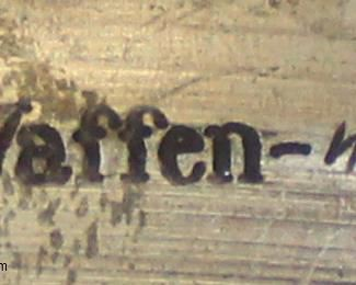 Lot 64: Forks marked Waffen SS (lot of 3)