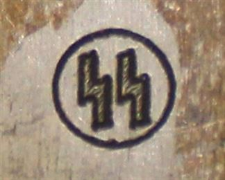 Lot 66: Forks marked SS (lot of 2)