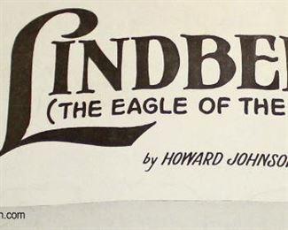 Lot 74: Lindbergh (The Eagle of the U.S.A.) by Howard Johnson and Al Sherman Sheet Music