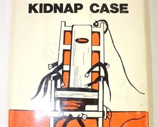 Lot 76: Hysteria Lindbergh Kidnap Case signed by Andrew K. Dutch first edition