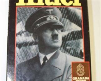 Lot 79: Hitler VHS Tape Heroes and Tyrants with Cover by Granada Video