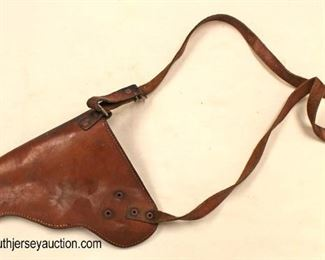 Lot 93: Leather Shoulder Holster possible military use