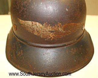 Lot 138: WWII Civil Air Defense Helmet