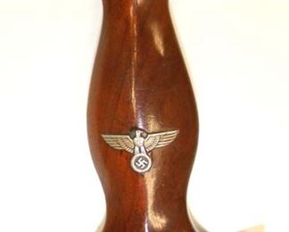 Lot 147: WWII German SA Dagger with repainted Scabbard Made by Justinuswerk Marked BO on Hand Guard