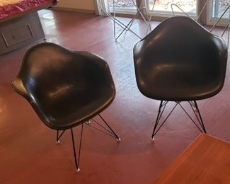 Mid Century Herman Miller side chairs