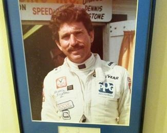 AND SIGNED PHOTO OF DENNIS STONE!