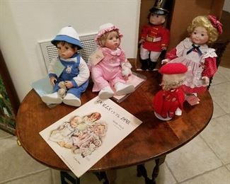 Gumdrop Boy & Girl (A Boots Tyner Original/Vintage Numbered Edition),  Middleton 1989 Christmas Angel, Kingstate Doll, Paper Dolls of the 1930s