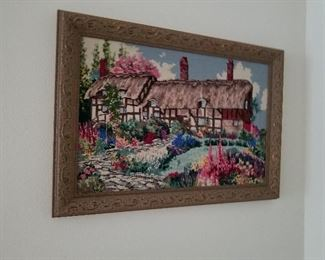 Needlepoint Wall Hanging