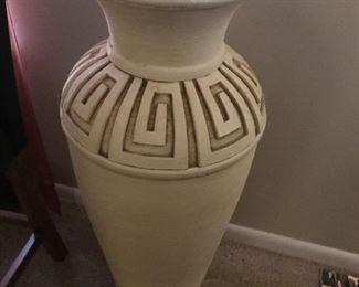 """Nuart """"Greek Key"""" Floor Vase"""