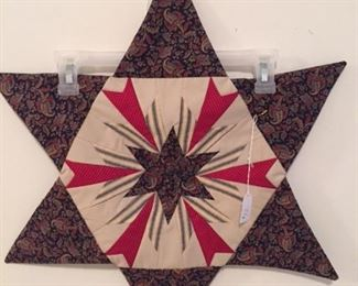Quilted star