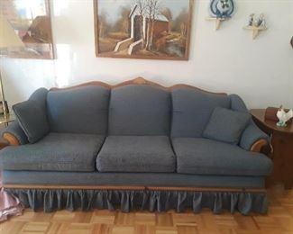 Sofa, blue