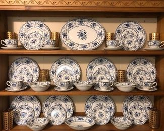 """""""Indies"""" pattern, by Johnson Bro's , England"""