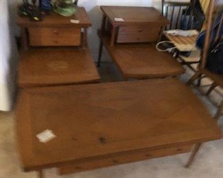 Main floor MCM STYLE OCCASIONAL TABLES
