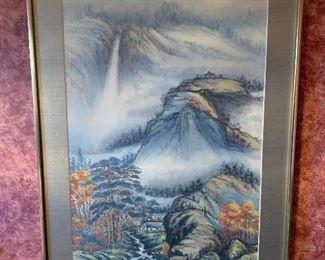 Oriental Landscape Painting
