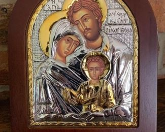 Souvenir Icon from Jerusalem