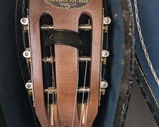 Vintage Carmencita acoustic guitar with hard-side case