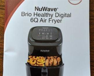 NuWave Brio Healthy Digital 6qt air fryer