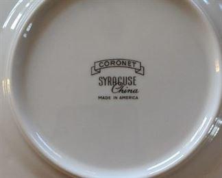 Syracuse fine china MCM Coronet
