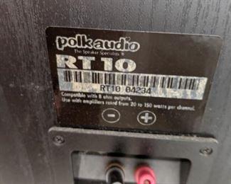 Polk audio RT10 Pair