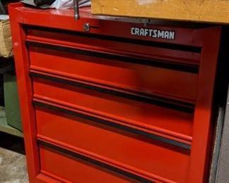 Craftsman rolling tool storage
