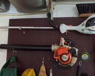 Brand name leaf blower and trimmer