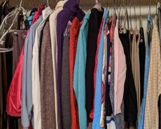 more quality clothing in the closet