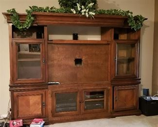 Storage and/or entertainment center.