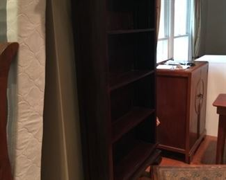 clawfoot bookcase, solid wood