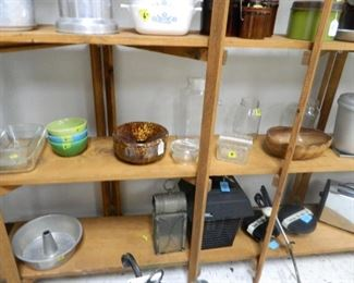 Housewares, kitchen items