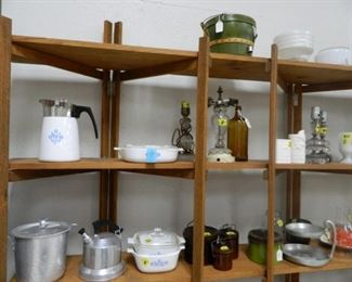 Corningware, kitchen items